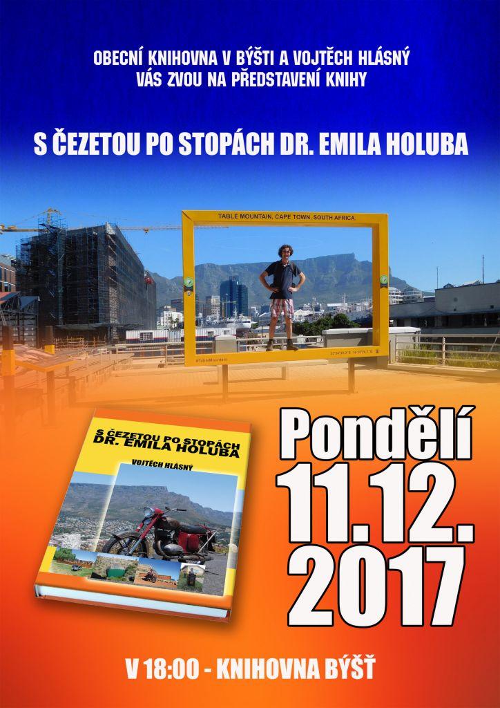 Představení knihy S ČEZETOU PO STOPÁCH DR. EMILA HOLUBA 1