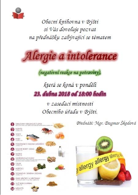 Alergie a intolerance 1