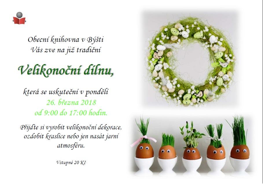 Velikonoční dílna 1