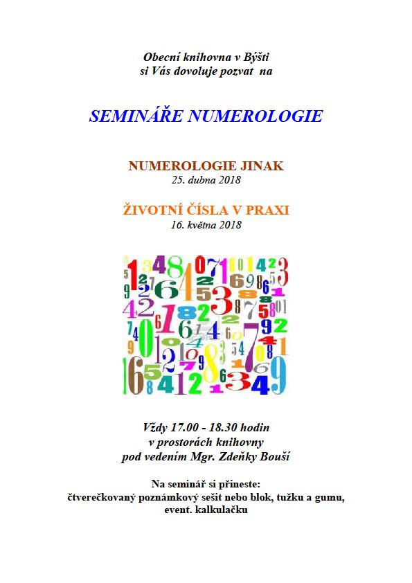 Numerologie jinak 1