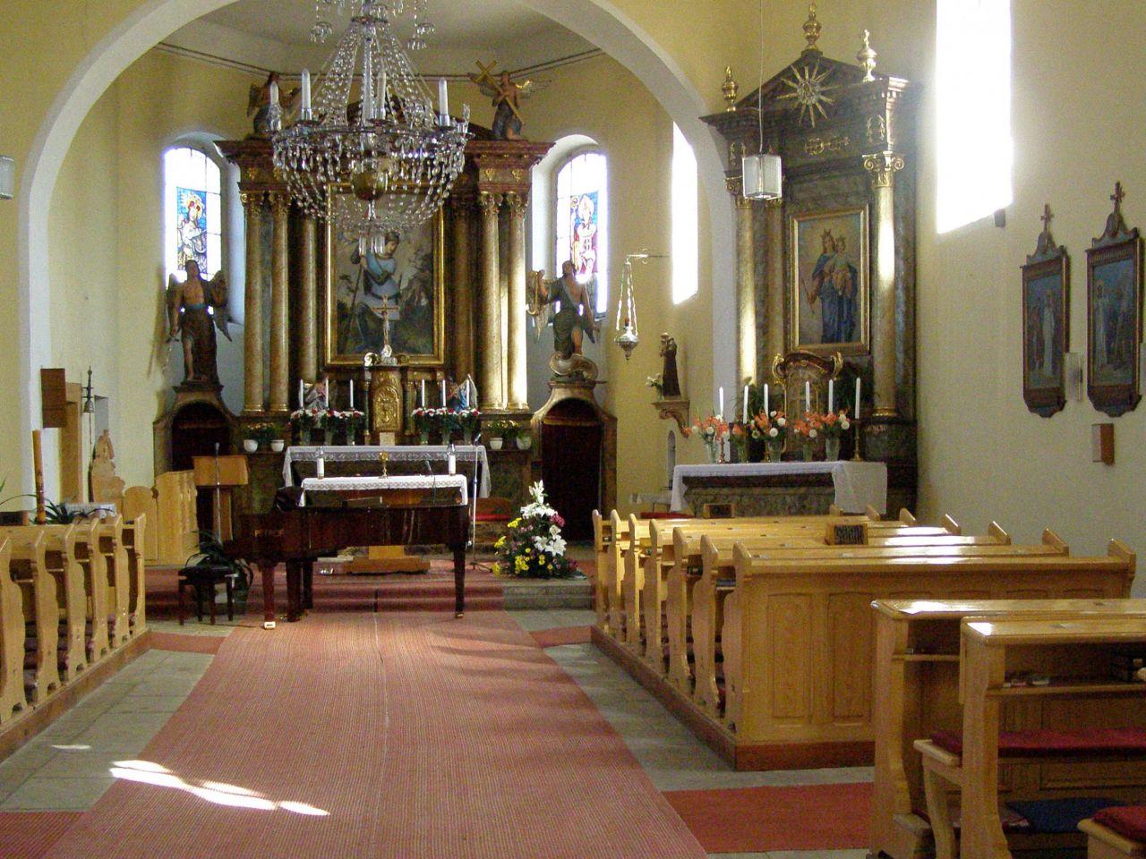 Vánoční koncert v kostele sv. Jiří v Býšti 1